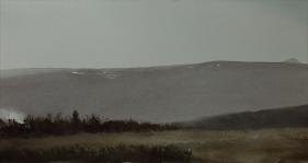 Maísól yfir Syðri-Reykjum