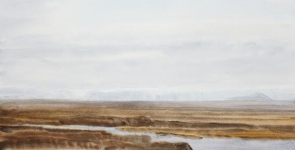 Vorstemmning í Heiðmörku 24x48 2015