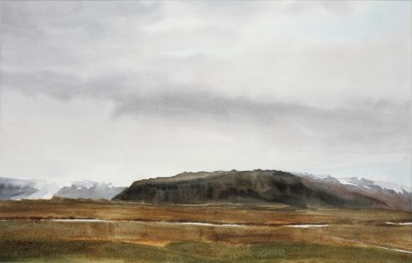 Horft til Viðborðsfjalls 250x370