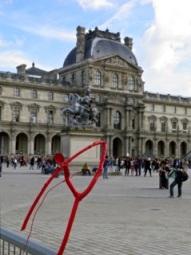 Við Louvre