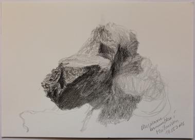 Hraunnibba í Heiðmörku 16 05 2016